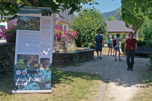 Une exposition proposée par la Maison des Patrimoines, dans le jardin de la mairie